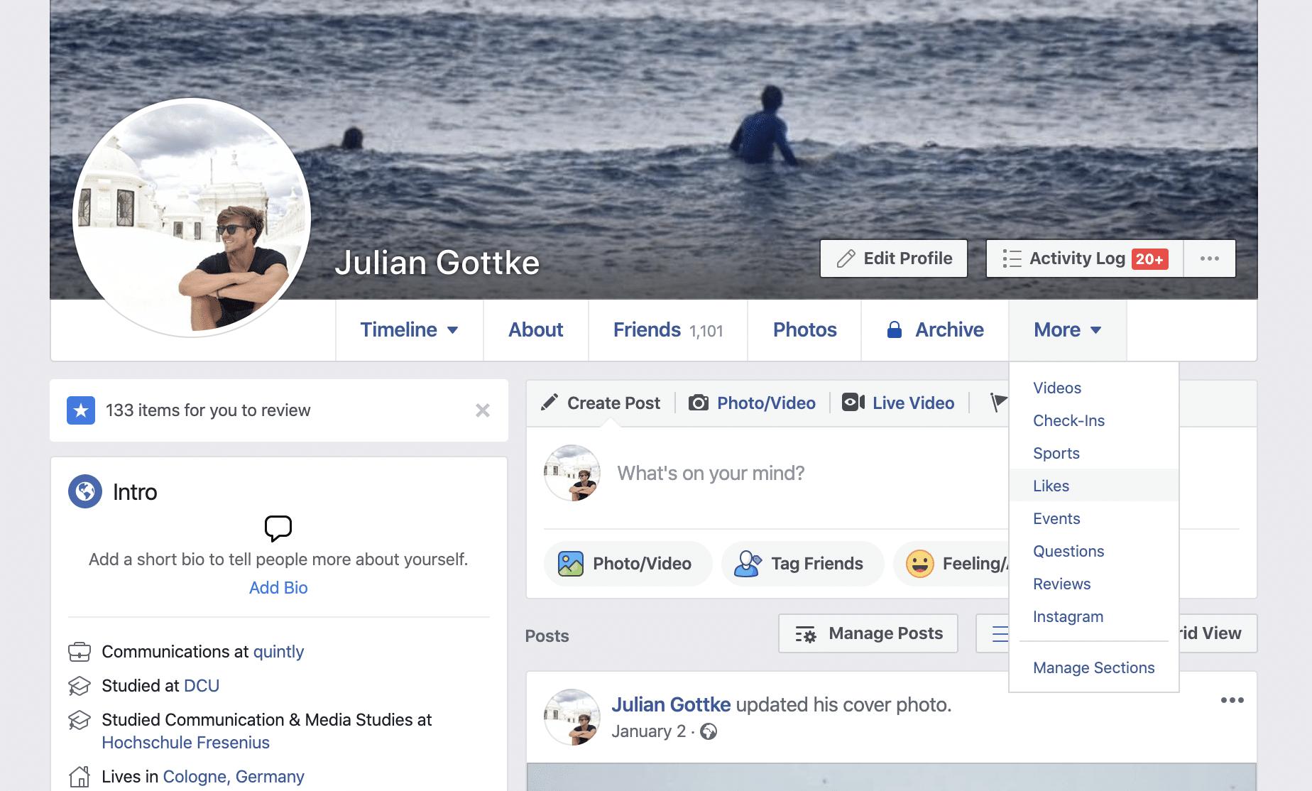 Facebook Zielgruppen Recherche