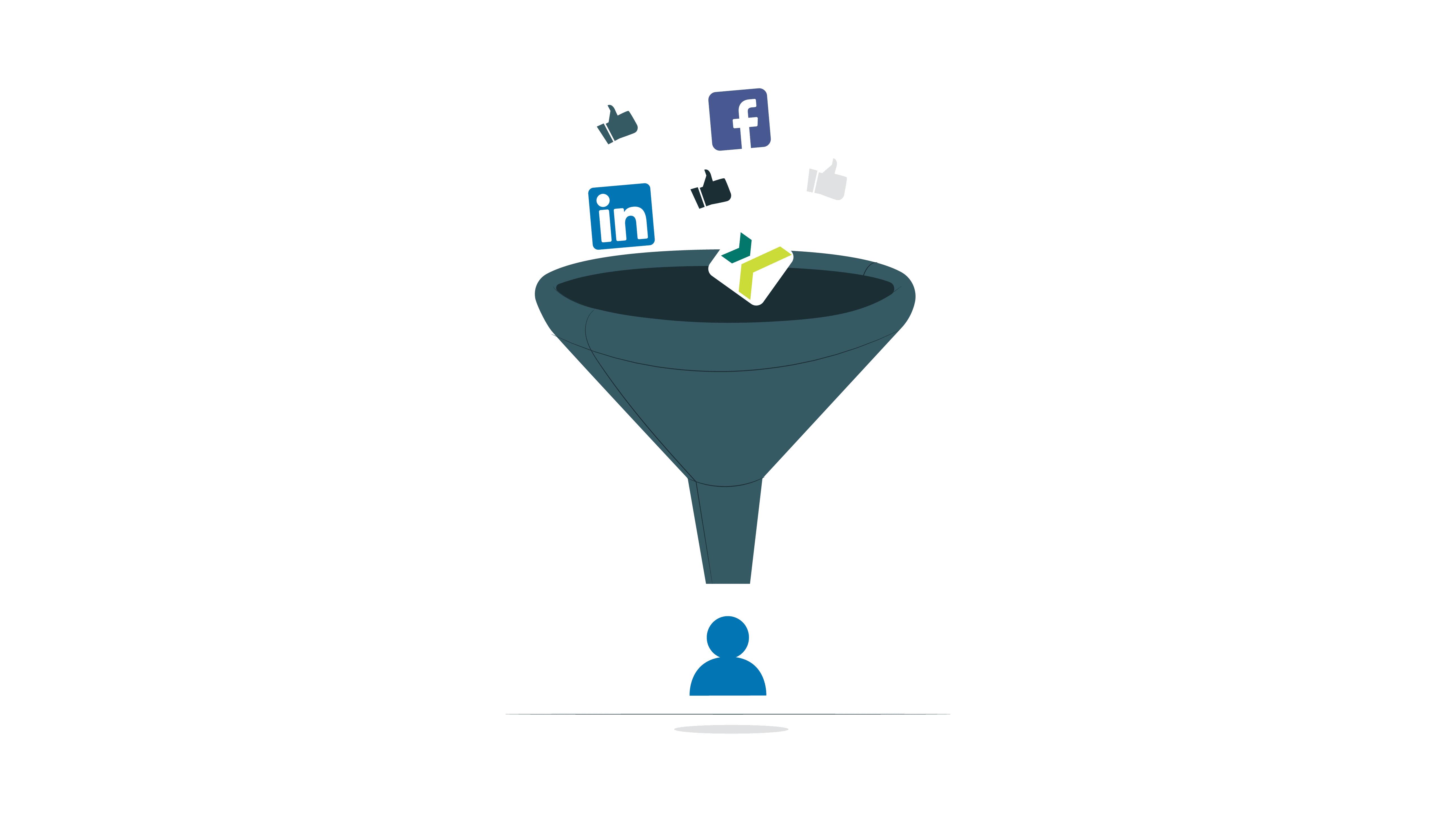 social media recruiting funnel